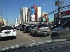Cuiabá, transito ao meio dia
