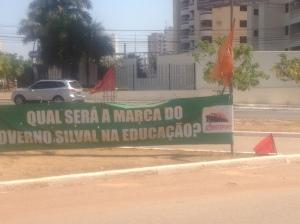 Educação em greve