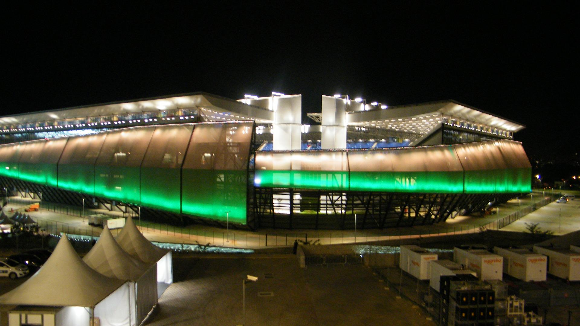 Arena Pantanal pronta para a Copa